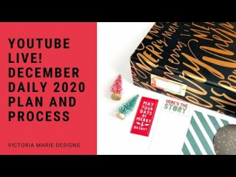 FRIDAY LIVE! My December Daily 2020 Plan and Process!