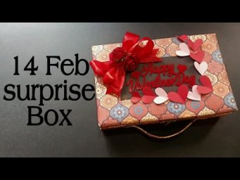 Valentines Day Gift Box||Valentines Day Special Surprise Box For GF/BF||
