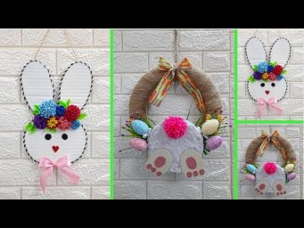 2 Economical Easter Craft made with waste materials |DIY Low budget Easter/Spring décor idea(Part16)