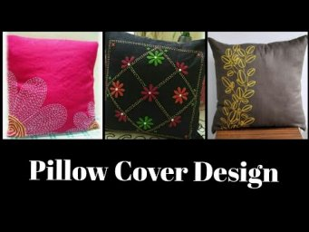 Hand Embroidery Pillow Cover / Cushion Cover Design / Hand Embroidery Designs Patterns
