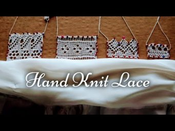 Hand Knit Victorian Lace