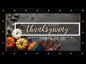 Thankful 4 You // Thanksgiving Giveaway