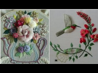 Hand Embroidery / Brazilian Embroidery / Stump Work / Stump Work Embroidery Pattern / H H C