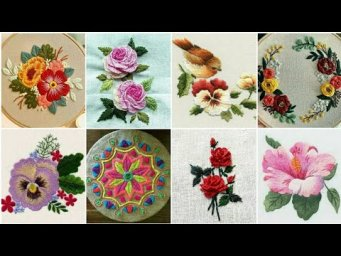 Hand Embroidery / Easy Cushion Cover Embroidery Designs Ideas / Pillow Cover Embroidery Designs