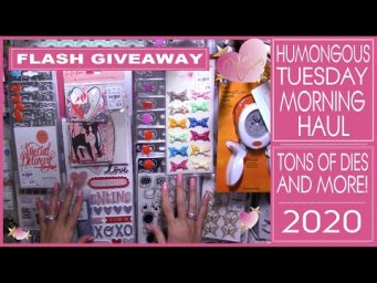 Humongous Tuesday Morning Haul 2020! Giveaway! New at Tuesday Morning. You got to see this!