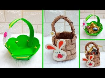 2 Easy Easter/spring Basket Gift idea |DIY Low budget Easter/spring décor idea (Part 28)