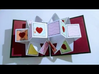 Lovely Greeting Card for Boyfriend I Handmade Greeting Card Idea I love Card