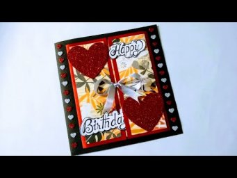 Beautiful Birthday Greeting Card Idea I DIY Birthday Card I complete tutorial