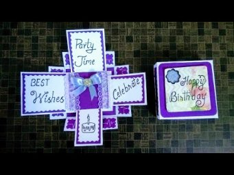 Latest Handmade Design  for Birthday Card I Birthday Greeting Card I Tutorial