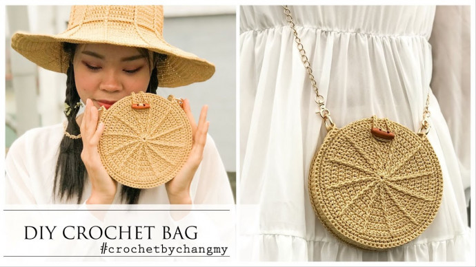 DIY crochet drum bag, so easy and cute | crochet by changmy